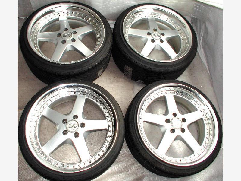 WORK Equip alloy wheels rims 19 9J 10.5J 5x114 Jzx100 Lexus RX8