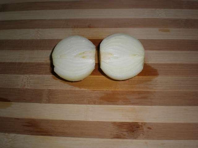 Cebolla limpia