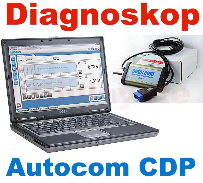 Autocom CDP Pro uczyni z Twojego komputera uniwersalne narzędzie