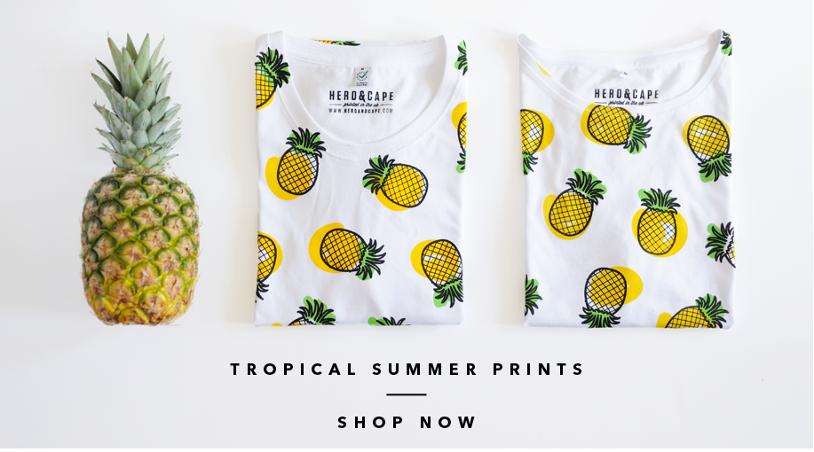 Hero&Cape Tropical Summer Prints