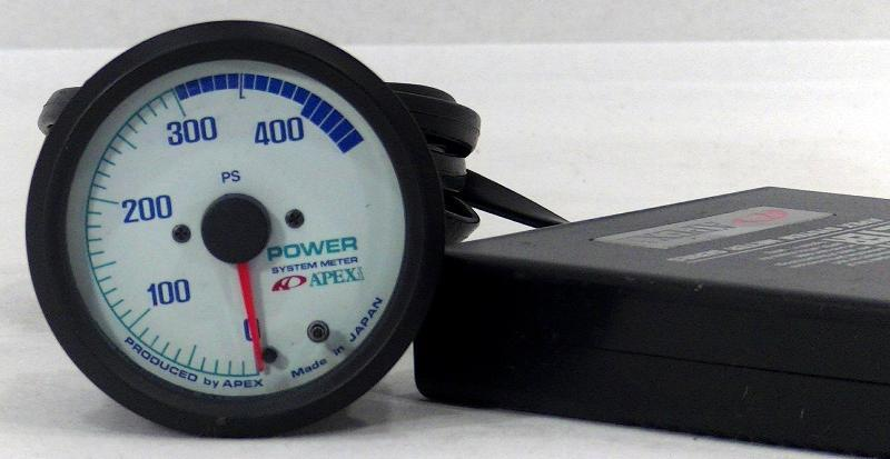 Apexi horse power meter 450PS meter 60mm gauge