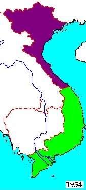 Severní Vietnam / Jižní Vietnam