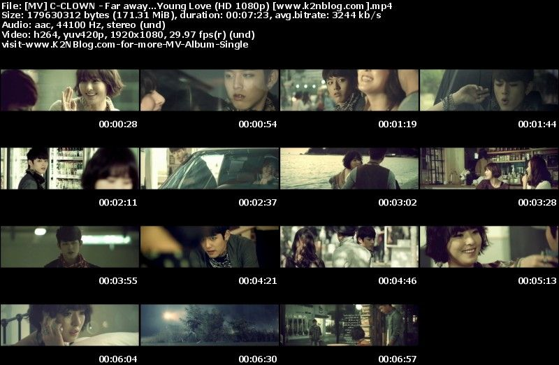 [MV] C CLOWN   Far Away...Young Love [HD 1080p Youtube]
