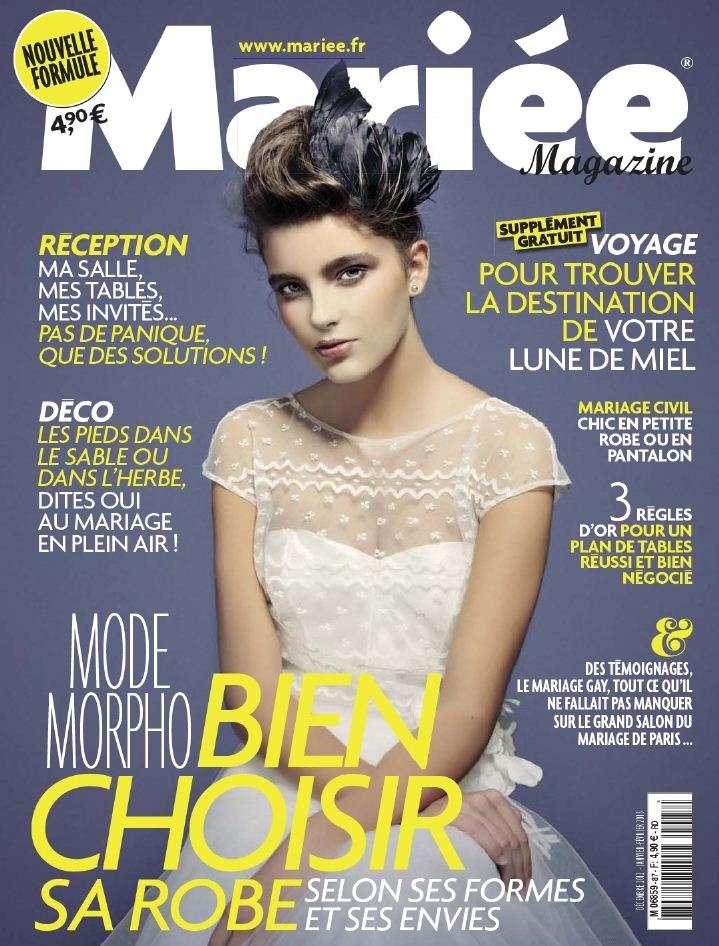 Mariée Magazine N°87 Décembre 2012 à Février 2013