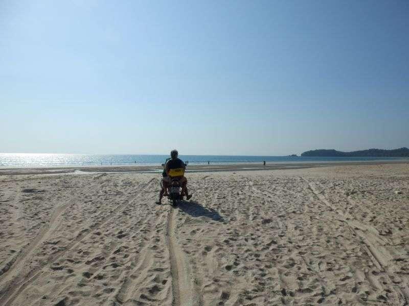 ...auf dem Strand.....