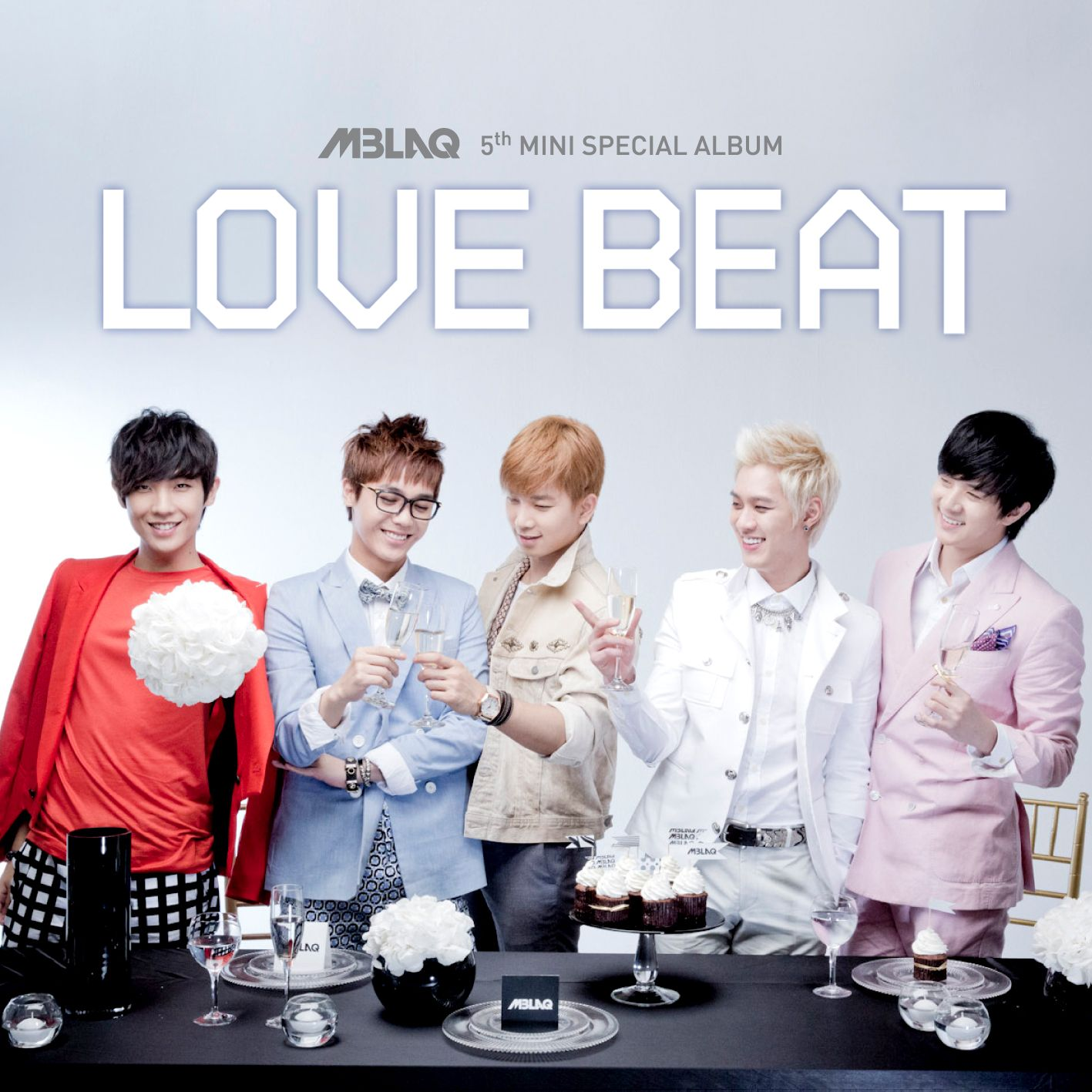 [Mini Album] MBLAQ - Love Beat [5th Mini Special Album] (MP3)