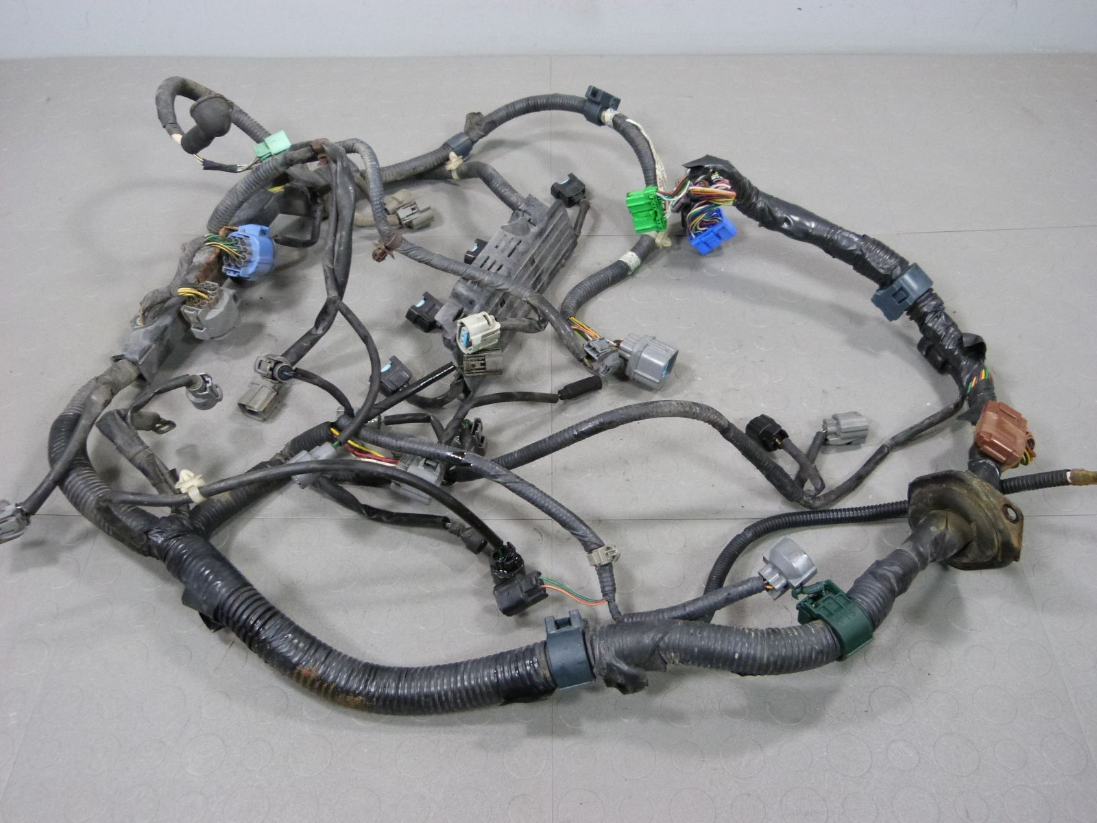 99 00 Honda Civic Ex Obd2 Sohc Vtec D16y8 Auto Engine Wire