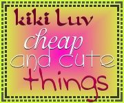 kiki luv cheap and cute things