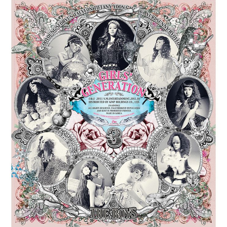 SNSD - The Boys Album cover