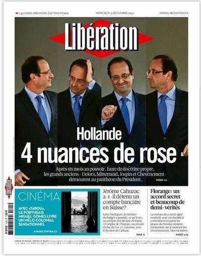 Libération Mercredi 5 décembre 2012