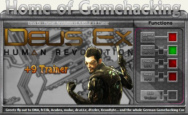 Deus Ex: Human Revolution The Missing Link v1.4.66.0 +9 Trainer [HoG]