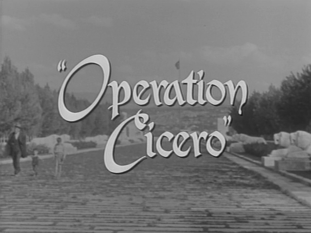 c39u Hubert Cornfield   Operation Cicero (1956)