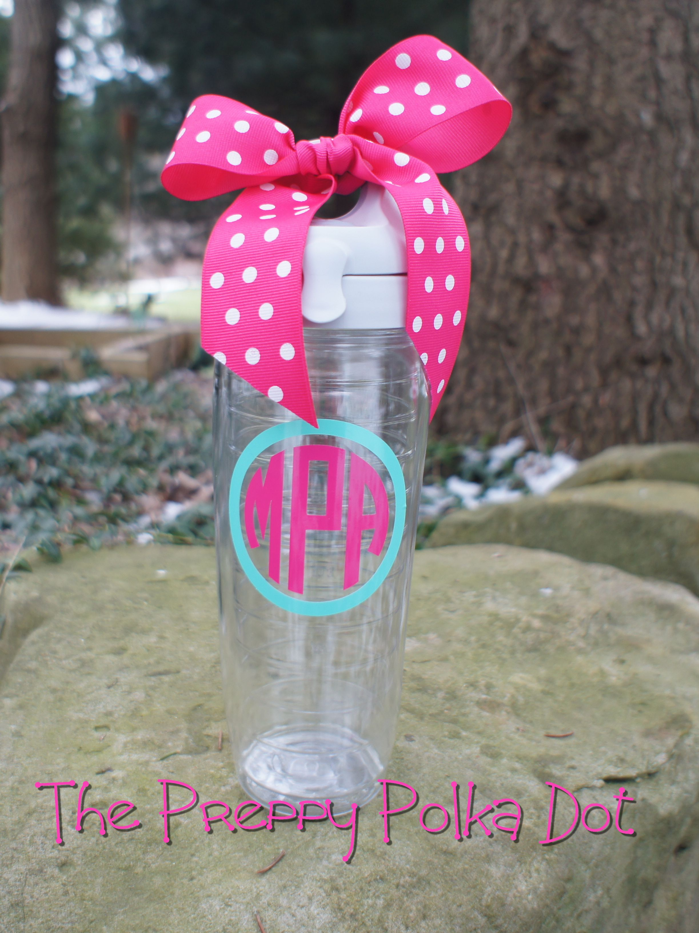 Monogram 24oz Tervis Water Bottle