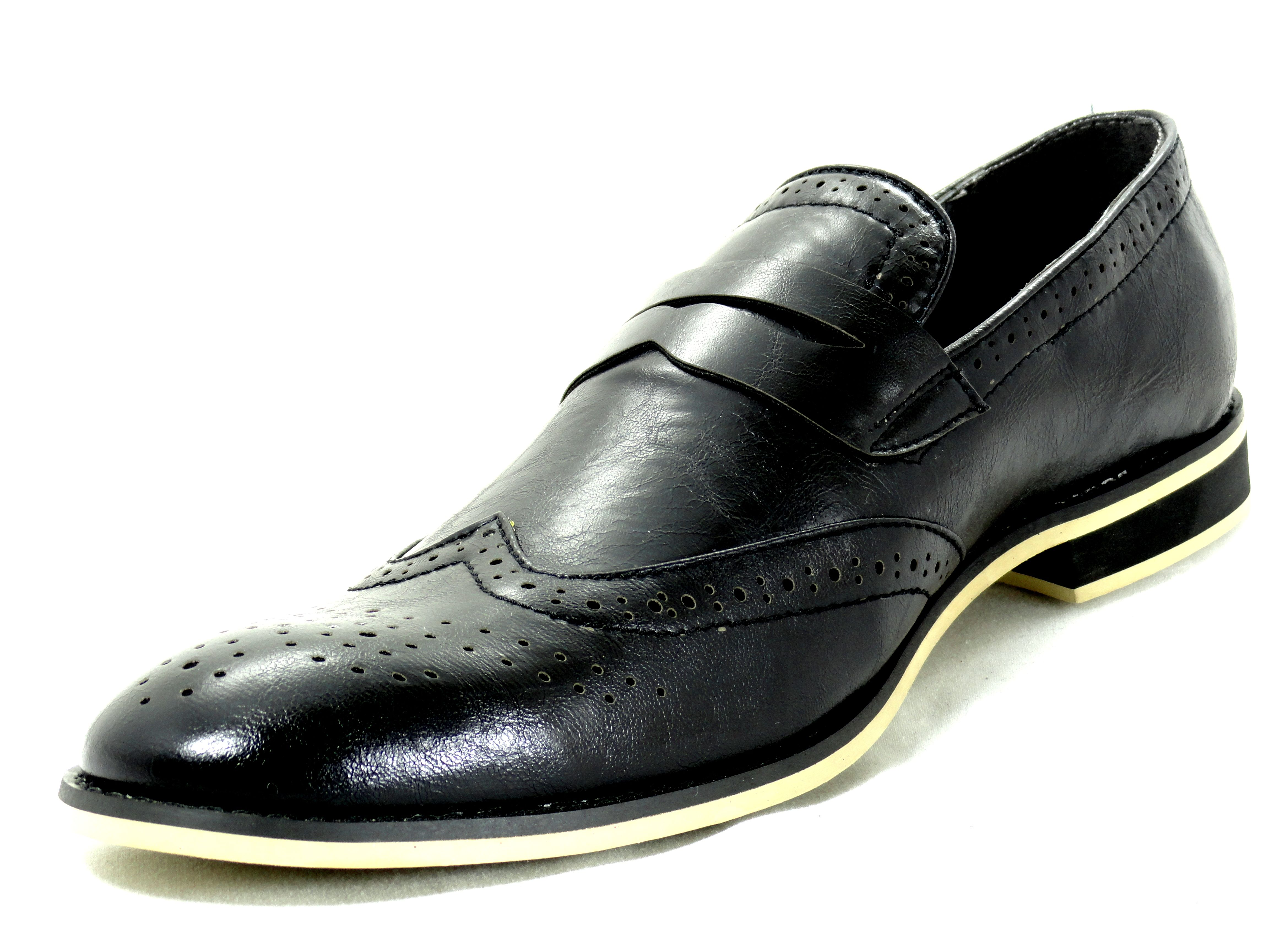 new mens dress shoes martello wingtip loafers slip on