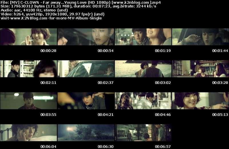 [MV] C-CLOWN - Far away...Young Love [HD 1080p Youtube]